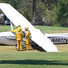 AIRPLANE DOWN NEWBURY PARK :